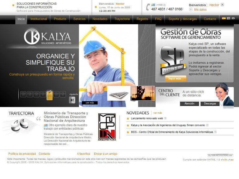 Kalya, software para la construcción