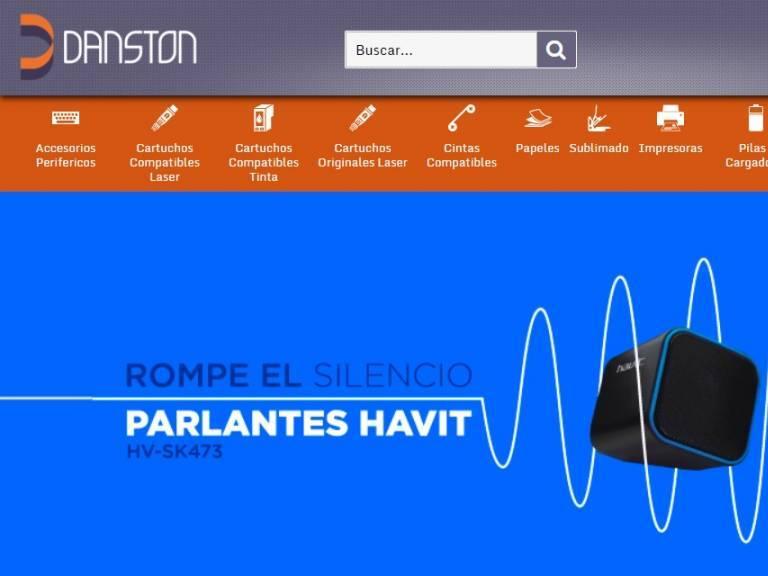 Danston tienda comercio electrónico - Danston